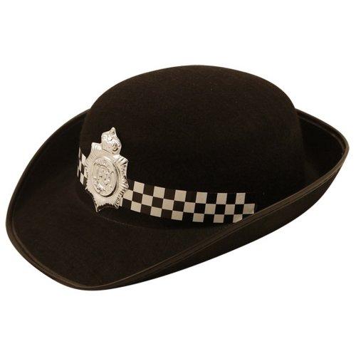 Henbrandt Womens/Ladies Felt Police Hat
