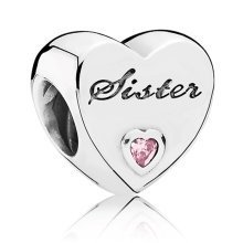Pandora Sisters Love Charm - 791946PCZ