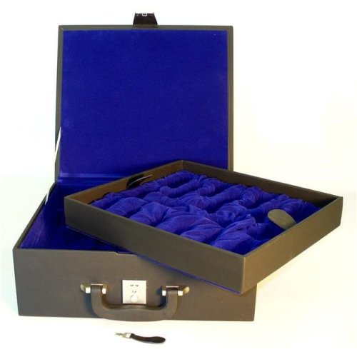 WorldWise BVBX6 Large Black Vinyl Chess Box