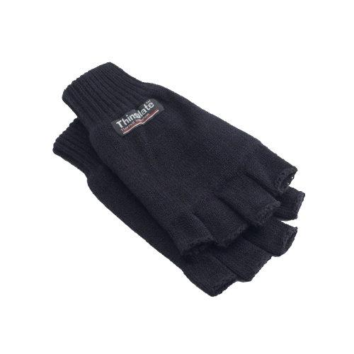 Yoko Unisex 3M Thinsulate Thermal Half Finger Winter/Ski Gloves