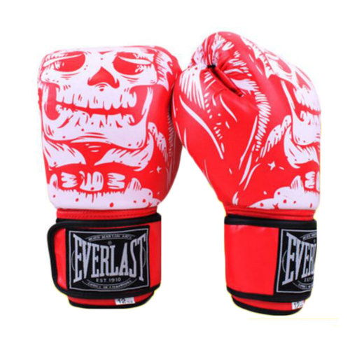 Boxing Gloves Adult Fighting/ Training gloves Muay Thai-Red