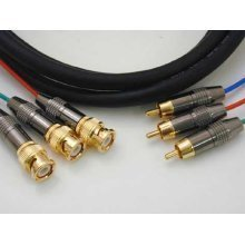3 Phono To 3 BNC RGSB Or Component 5m