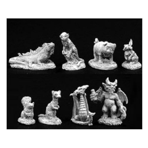 Reaper Miniatures Dark Heaven Legends 02756 Familiar Pack IV