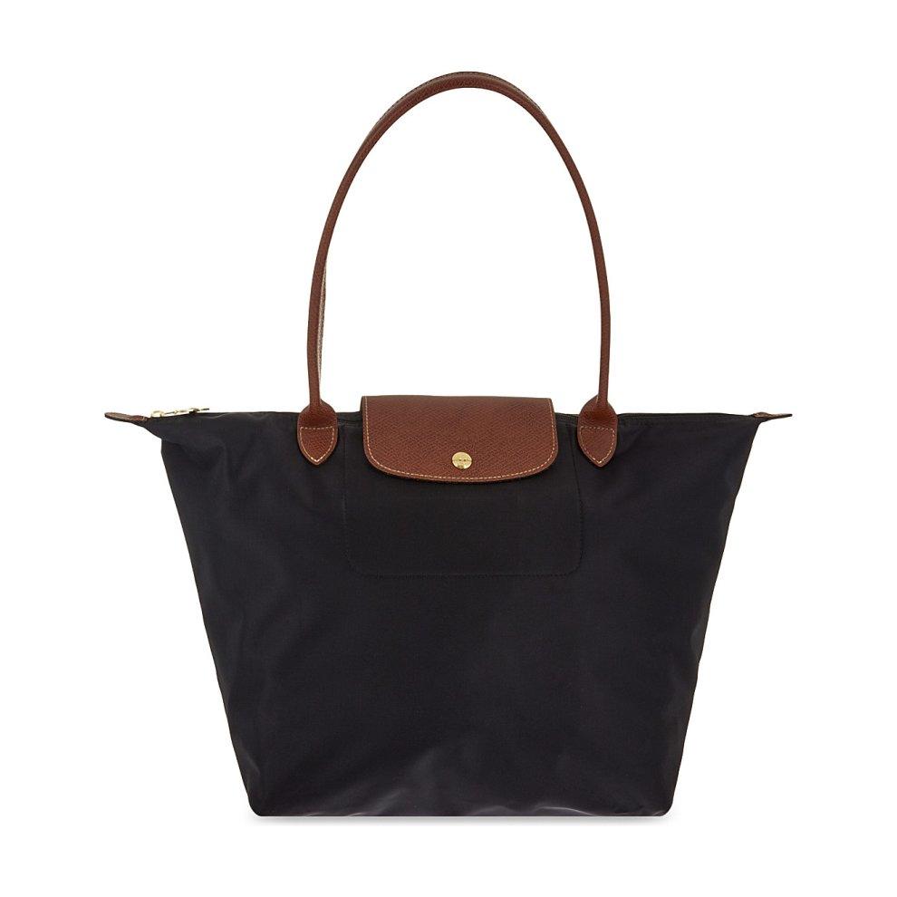 LONGCHAMP Le Pliage Nylon Large Tote Shoulder Bag (Black) on OnBuy f185c660bbcc4