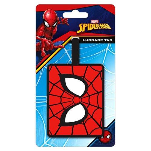 Spider-Man Eyes Rubber Luggage Tag