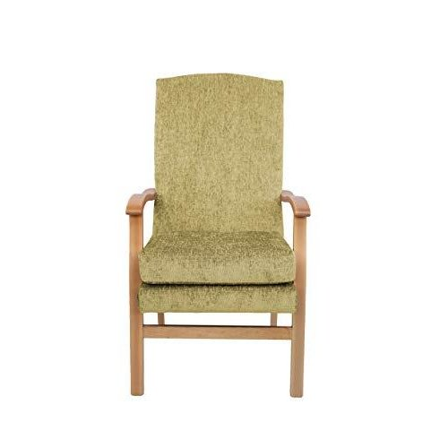 MAWCARE Deepdale Ortopaedic High Seat Chair - 19 x 20 Inches [Height x Width] in Darcy Gold (lc48-Deepdale_d)