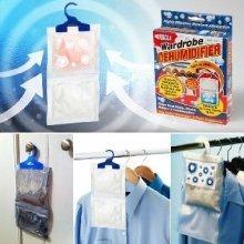 Hanging Wardrobe Dehumidifier Helps Stop Damp Mould Mildew Control - Moisture -  hanging dehumidifier wardrobe moisture dampmouldmildew prevention