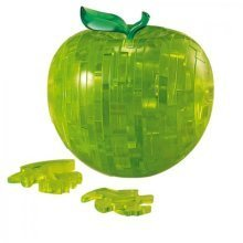 Jigsaw Puzzle - 44 Pieces - 3D - Beautiful Green Apple