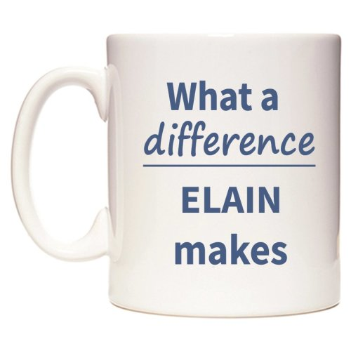 What a difference ELAIN makes Mug