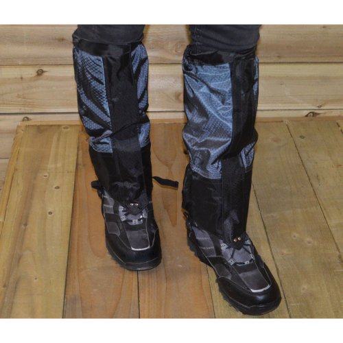 L / XL National Trust Waterproof Gaiters for Hiking Walking & Camping