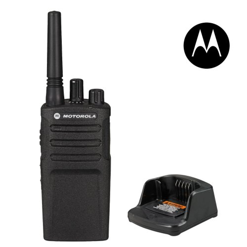 Motorola XT420 Licence-Free Business Radio PMR446 Rugged Walkie Talkie + Charger