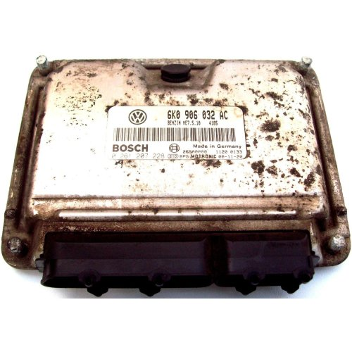 Seat Ibiza 1.4 Manual Benzin Motronic Engine ECU 0261207228