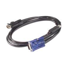 APC AP5253 1.83m Black KVM cable