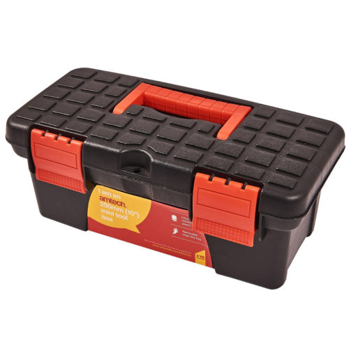 Small Little Mini Tool Box Storage Fishing Tackle Craft Organiser Handle Amtech N0135