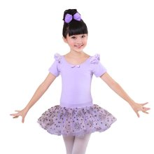 Comfortable Gymnastic Leotard Dress Ballet Tutu Skirt Ballerina Dance Costumes, B