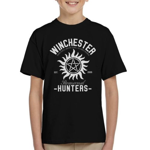 Winchester Paranormal Hunters Kid's T-Shirt