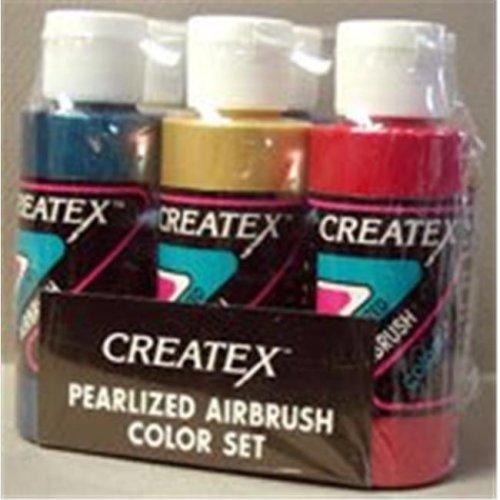 Alvin 5804-00 Createx Airbrush Pearl Set 2oz