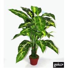 Artificial X-Large 100cm Aglaonema Costatum Plant Tree Potted