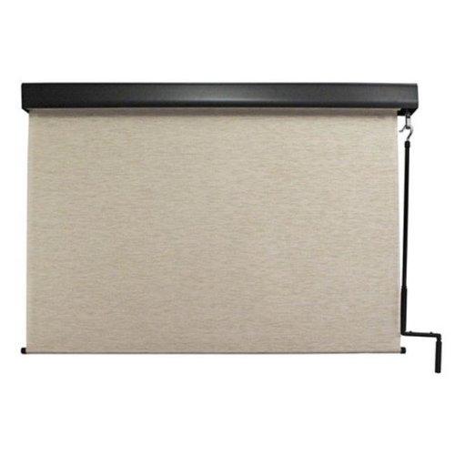 Keystone Fabrics E70.48.30 Exterior Crank Sunshade with Valance, Maui - 48 x 96 in.