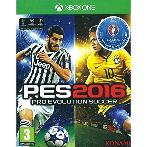 Pro Evolution Soccer 2016 UEFA Euro Edition (Xbox One) 2016 PEGI Rating: Ages 3 and Over