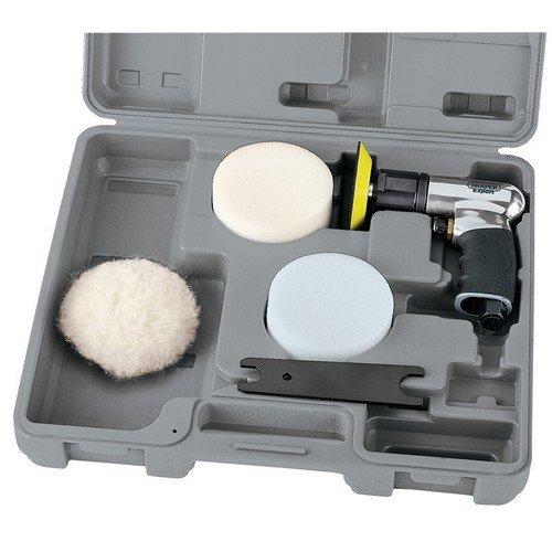 Draper 47616 Expert 75mm Compact Soft Grip Air Polisher Kit