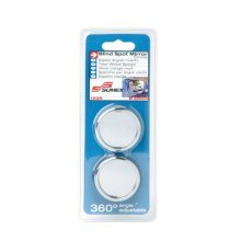 Pack Of 2 Round Chrome Blind Spot Mirrors - Car Convex Sumex 1035520 Self -  2 blind spot car convex round mirrors sumex pack chrome 1035520 self