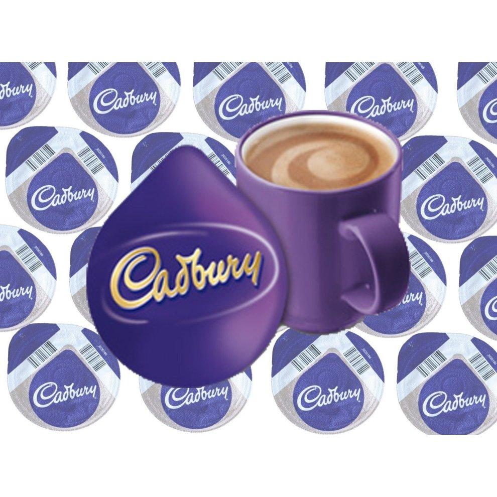 Tassimo Cadbury Hot Chocolate 25 T Disc 25 Drinks Sold Loose