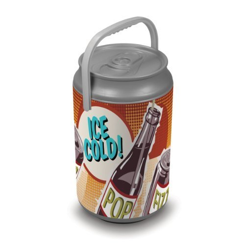 Oniva A Picnic Time Brand Mega Insulated Can Cooler Retro Pop