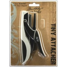 Tiny Attacher Stapler With 100 Staples - Ideaology Tim Holtz -  tiny ideaology attacher tim holtz staples