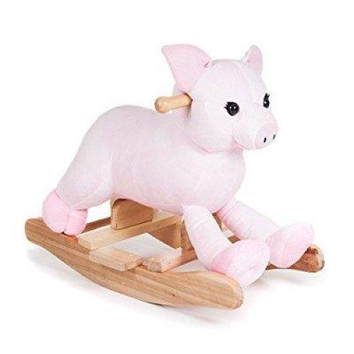 Happy Trails Plush Rocking Hamlet Pig Ride On
