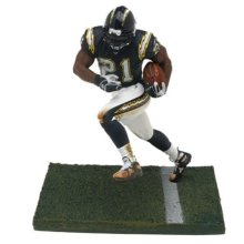 McFarlane Toys NFL Sports Picks Series 10 Action Figure LaDainian Tomlinson (San Diego Chargers) Blue Jersey