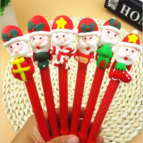 Christmas Santa Claus Crutches  Pen