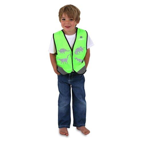 Littlelife Dinosaur Reflective Safety Vest Medium High Visibility Walk Cycle Run