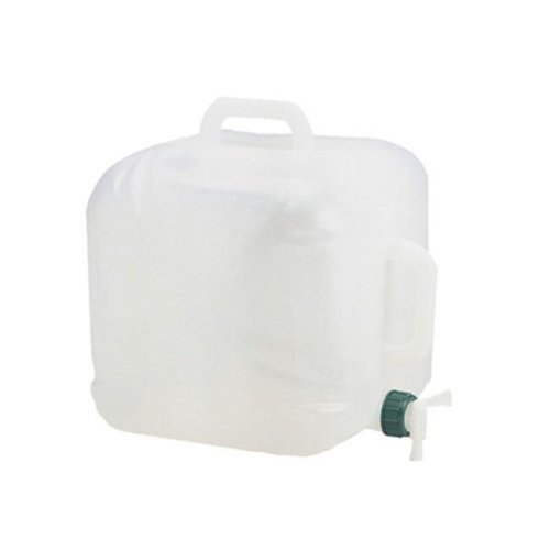 5 Gallon Expandable Water Carrier White
