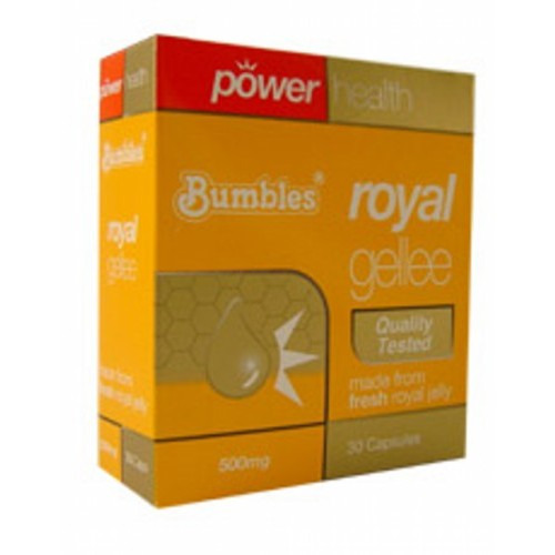 Power Health Bumbles Royal Gellee 500mg  30 Caps