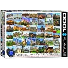 Eg60000762 - Eurographics Puzzle 1000 Pc - Castles & Palaces Globetrotter