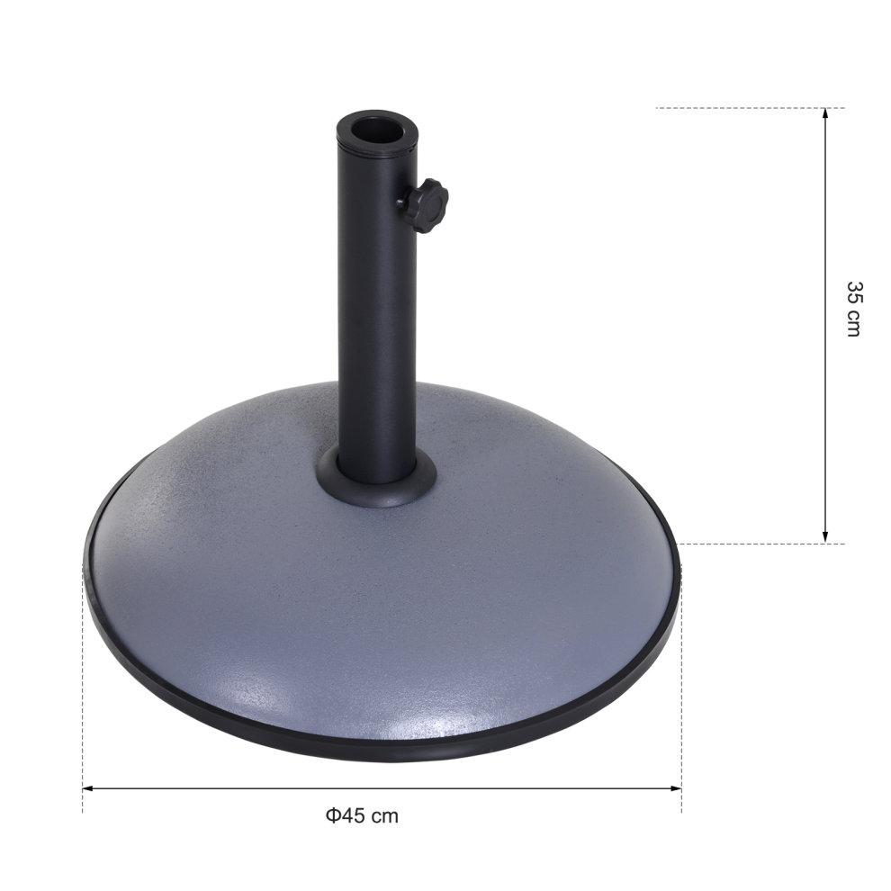 Parasol Umbrella Base 20kg Patio Stand