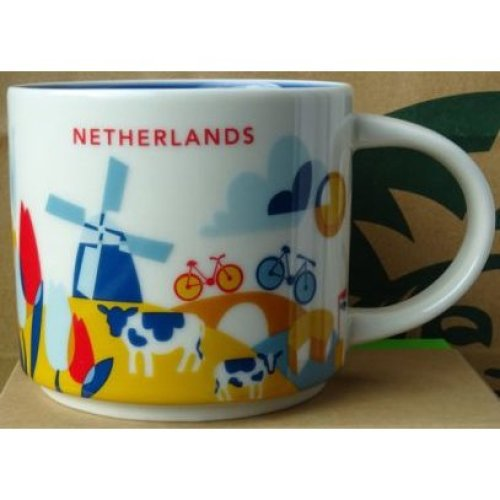 Starbucks You Are Here Mug Collection - Netherlands