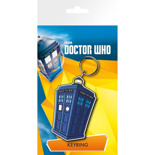 Doctor Who Tardis Illustration Keyring