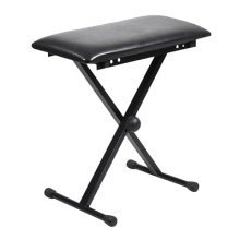 Piano or Keyboard Bench with X-Type Frame