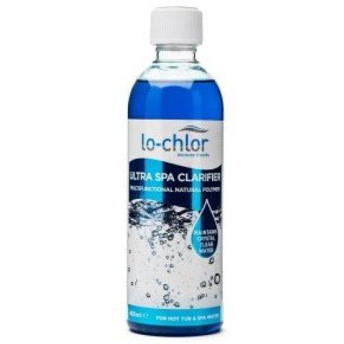 Lo-Chlor Ultra Spa Hot Tub Clarifier - Biodegradable Natural Clarifier