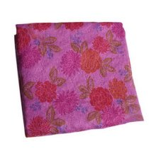 Dark Purple Peony Style Printing Sweat Mattress Non-slip Thicker Yoga Shop Towel