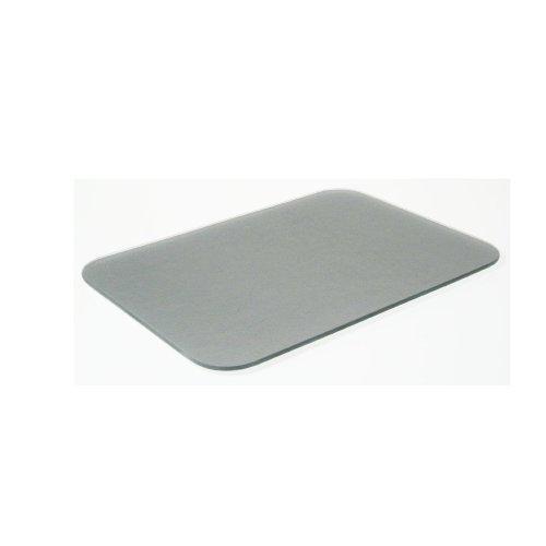 Tuftop Small Textured Worktop Saver, Silver 30 x 22cm
