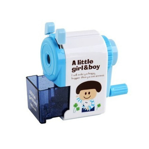 Pencil Sharpener Suitable for Office, Home and School?The blue