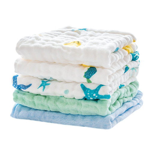 Baby Soft Cotton Towels Great Gifts for Kids and Toddlers 5 Packs