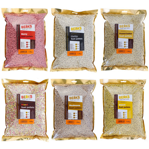 Suet feed pellets for wild bird feeding 1.9kg