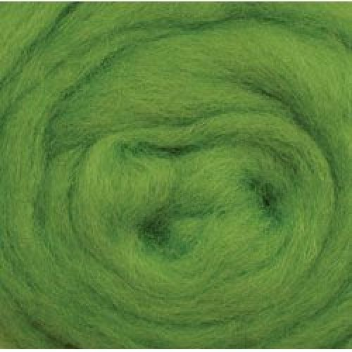 """Wistyria Editions Wool Roving 12"""" .22oz-Lime"""