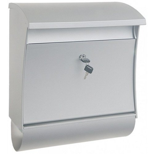 Silver Alaska Extra Large Pvc Post Box Rottner