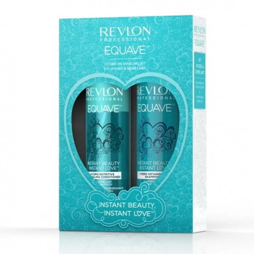 Revlon Proffesional Equave Hydro Detangling Kit, Shampoo and Conditioner Set