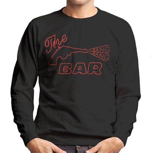 The Bang Bang Bar Neon Sign Road House Men's Sweatshirt